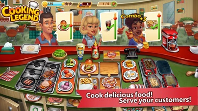 Cooking Legend Restaurant Game free Gems and Gold hack