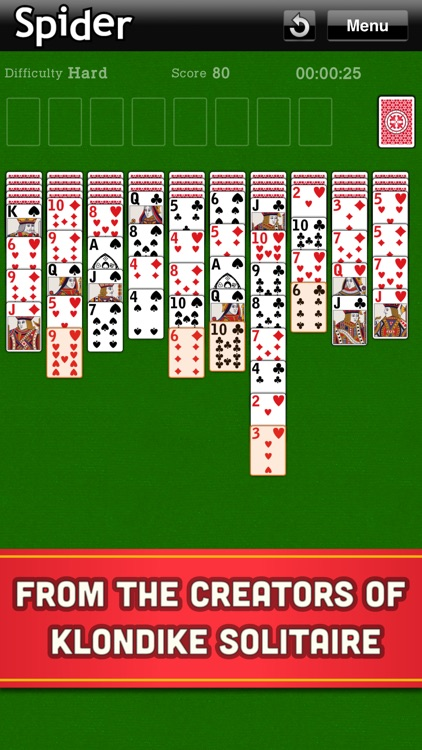 Spider Solitaire Classic Cards screenshot-1