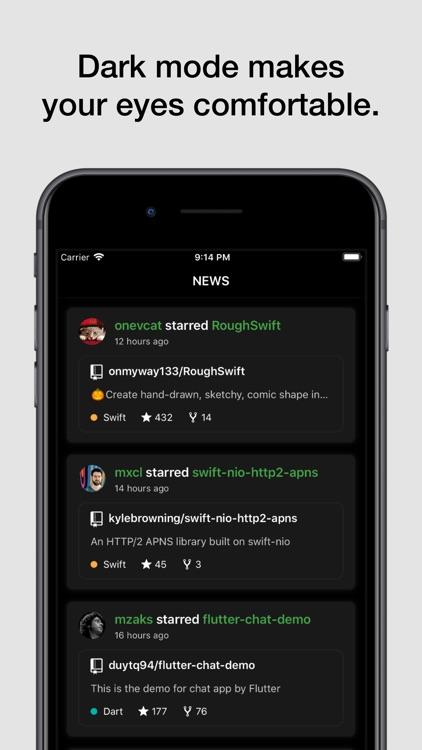 Coderx for GitHub screenshot-9
