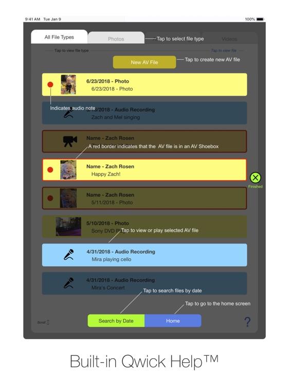 AV Shoebox for iPad screenshot-9