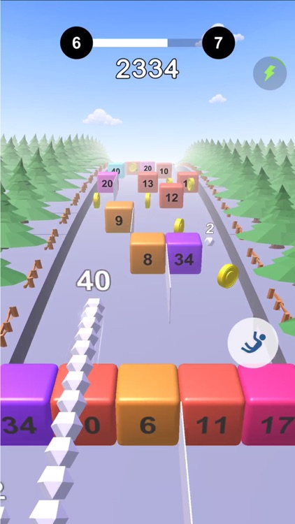 Snake VS Cube -Fun Endless Run screenshot-0