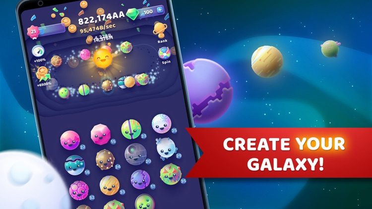 Moonies - Merge Planets Game