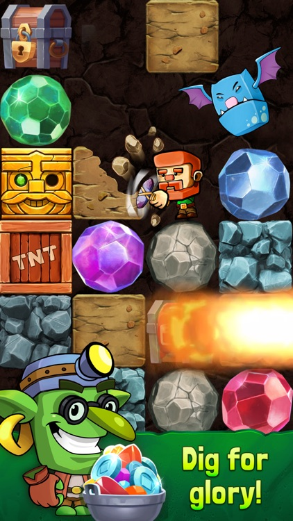 Dig Out! - Dungeon Mine screenshot-0