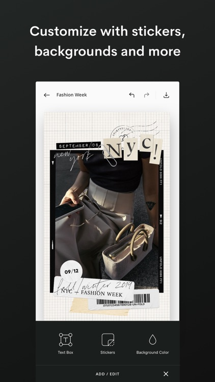 Unfold — Create Stories screenshot-6