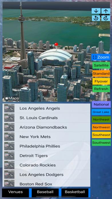 3D Sports Stadiums Lite screenshot 2