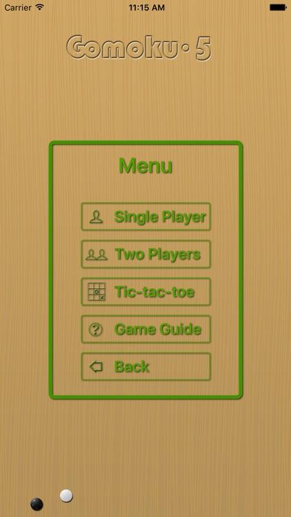Gomoku∙5 - line five in a row screenshot-3