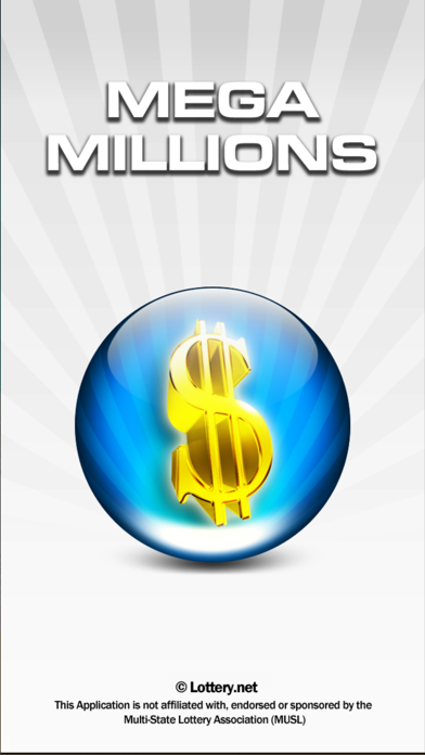 Mega Millions Lottery screenshot one