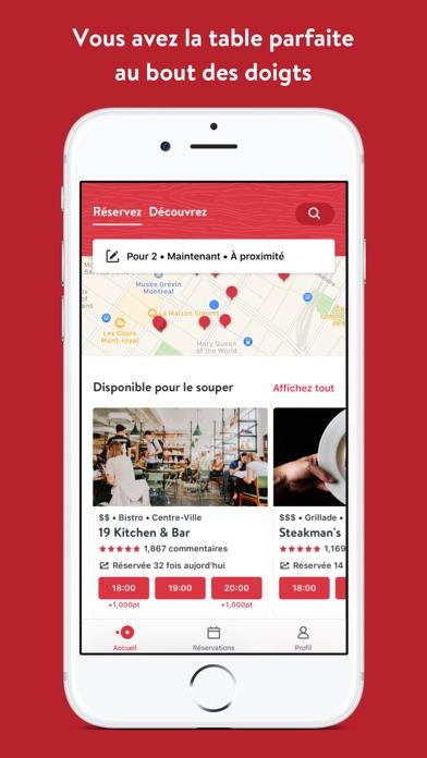 Screenshot for OpenTable in Lebanon App Store