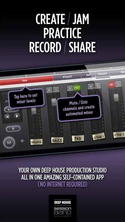 SessionBand Deep House 1 screenshot-4