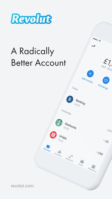 Screenshot for Revolut - Radically Better in Sri Lanka App Store