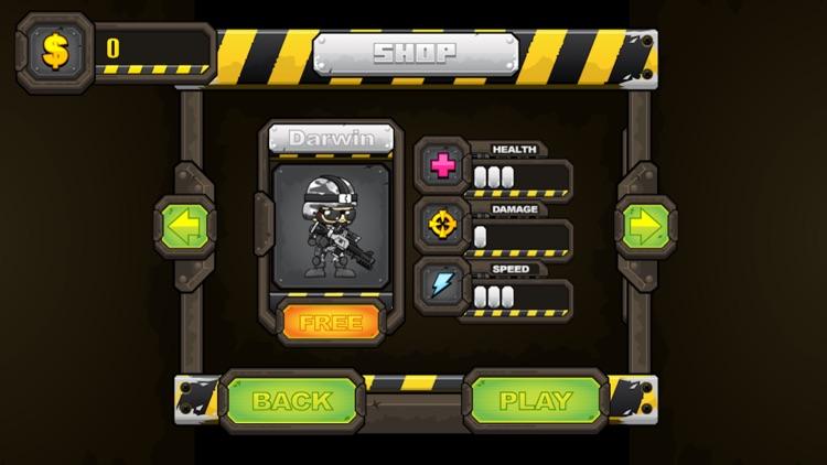 Zombies 2D: Run & Gun screenshot-4