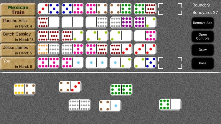 Mexican Train Dominoes screenshot-6