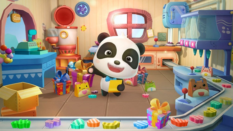 Candy Factory-Super Panda Game