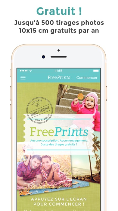 FreePrints - Tirages photo
