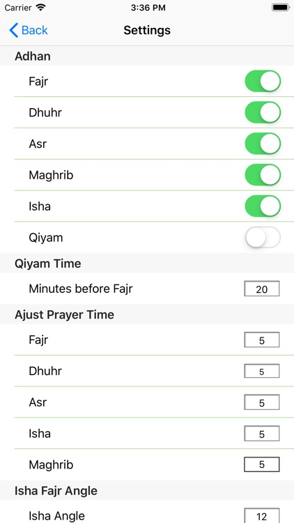 Islam.ms Prayer Times & Qibla screenshot-3