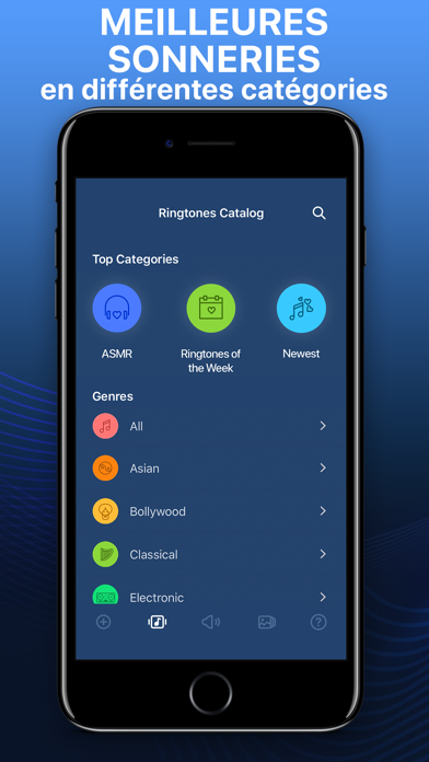 Screenshot for Sonneries et fonds d'écran in Lebanon App Store