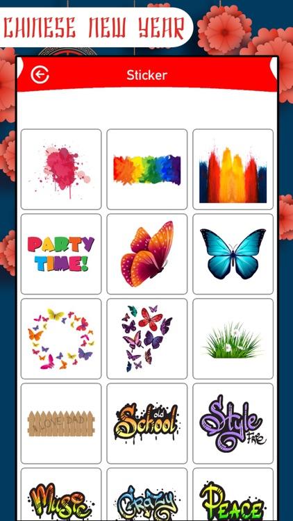 Chinese New Year Frame&Sticker screenshot-5