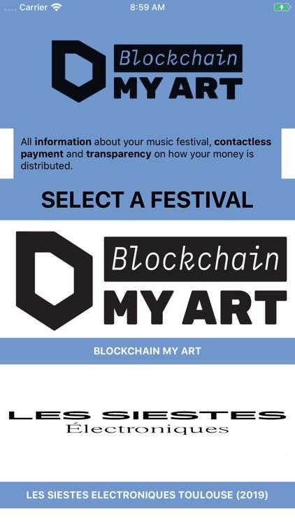 Blockchain My Art