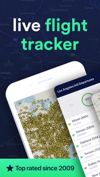 Plane Finder Flight Tracker review screenshots