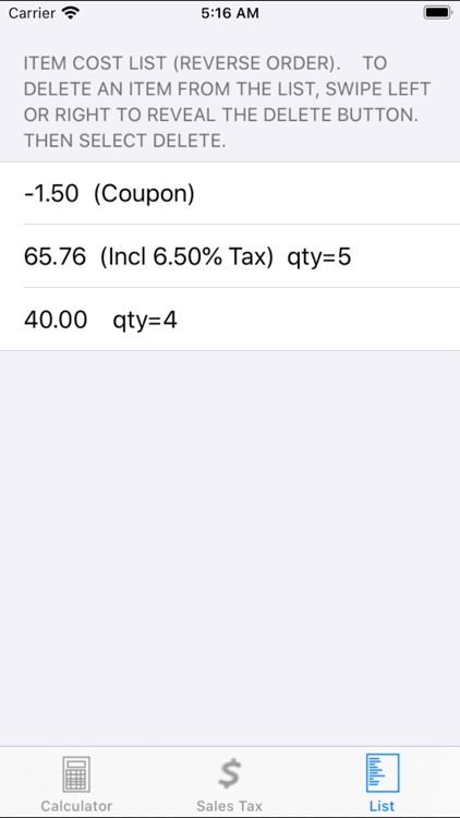 Ez Shopping Calculator screenshot-3