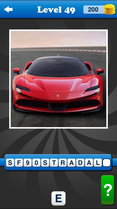Guess the Car: Logo Quiz Game!