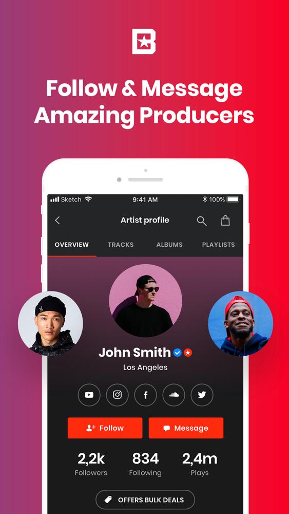 BeatStars - Instrumental Beats App for iPhone - Free Download