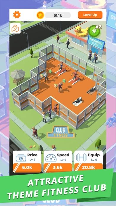 Idle Gym - Fitness Simulation screenshot 1