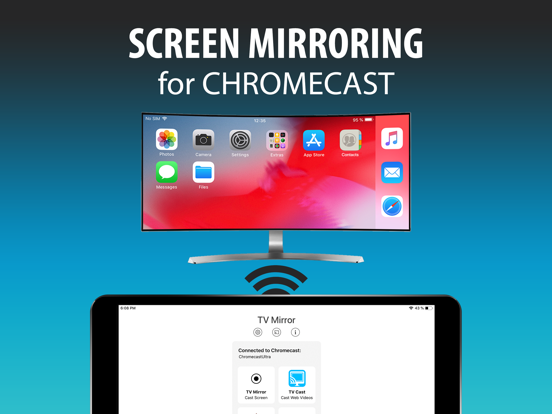 TV Mirror+ for Chromecast by 2kit consulting (iOS, United