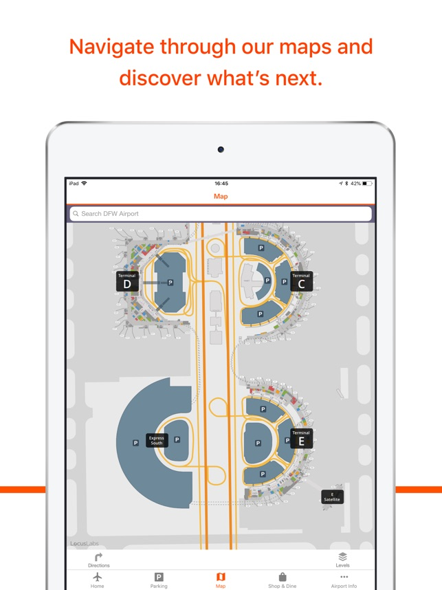DFW Airport on the App Store on