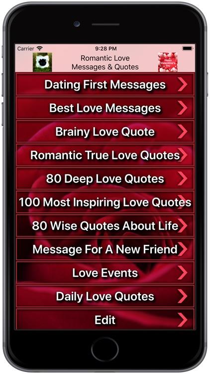 beste Love Quotes voor dating