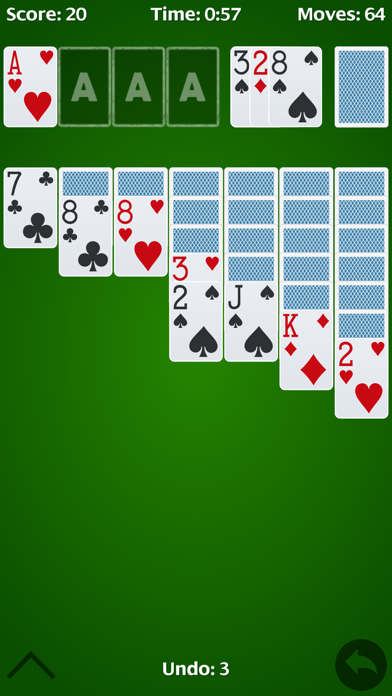 Solitaire - free cell. screenshot two
