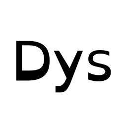 OpenDyslexic writing font