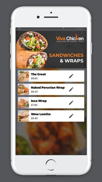 Viva Chicken App screenshot-3