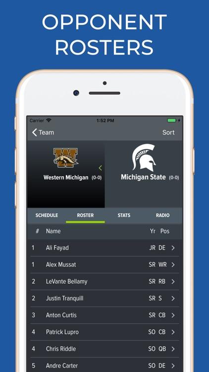 Michigan State Football screenshot-6