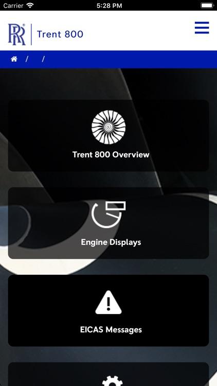 Trent 800 Pilot Guide
