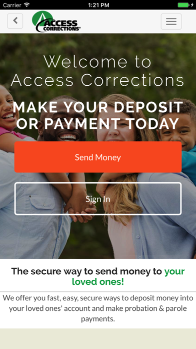 cancel Access Corrections app subscription image 1