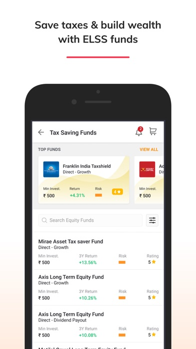 Moneyguru-Mutual Fund App screenshot #5
