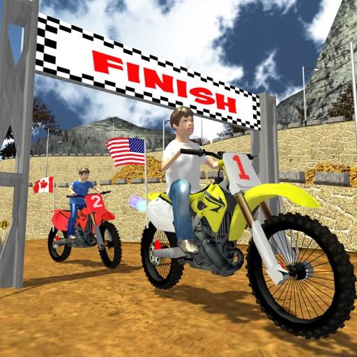 Kids Dirt Bike Moto Cross Race