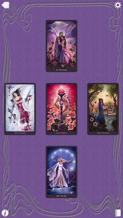 Crystal Visions Tarot screenshot-4