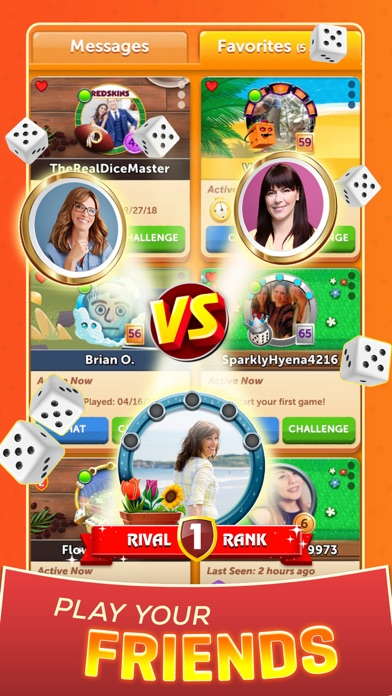 Yahtzee® with Buddies Dice app image