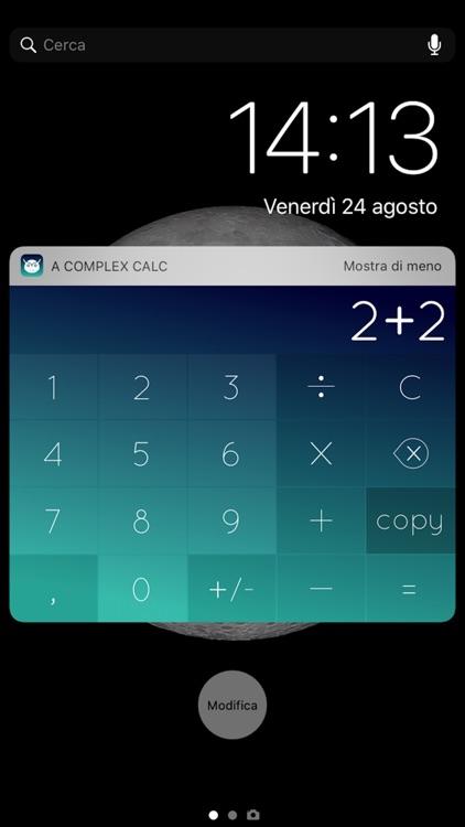 A Complex Calc
