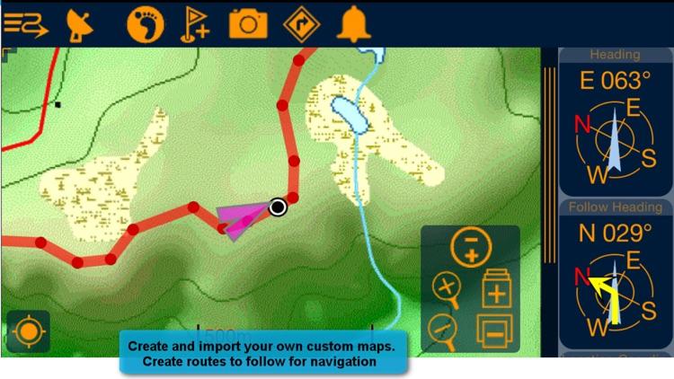 PathAway Express - Outdoor GPS screenshot-3