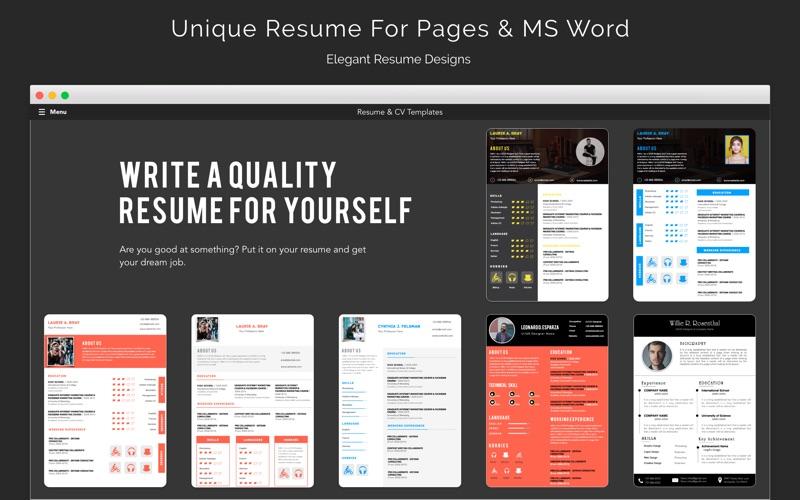 iPro - CV & Resume Template