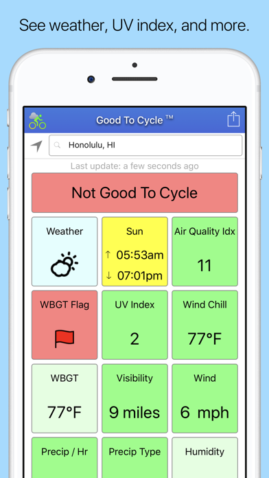 Good To Cycle Screenshot