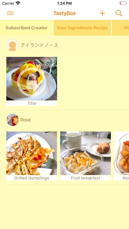 TastyBox - Discovery Recipes - screenshot-4