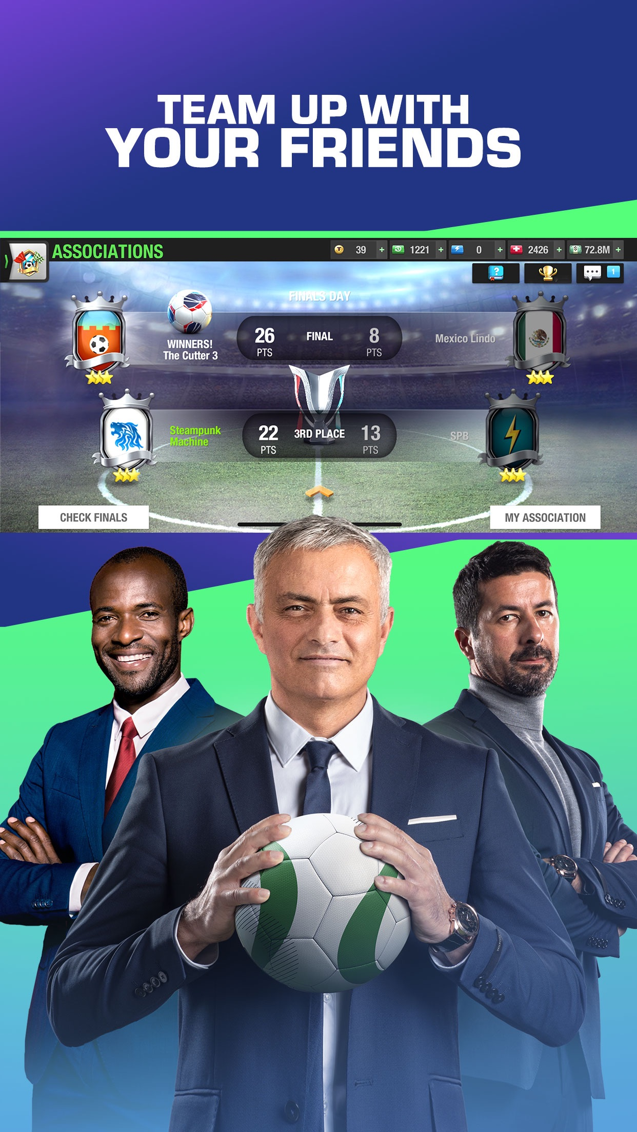 Top Eleven Be a soccer manager Screenshot