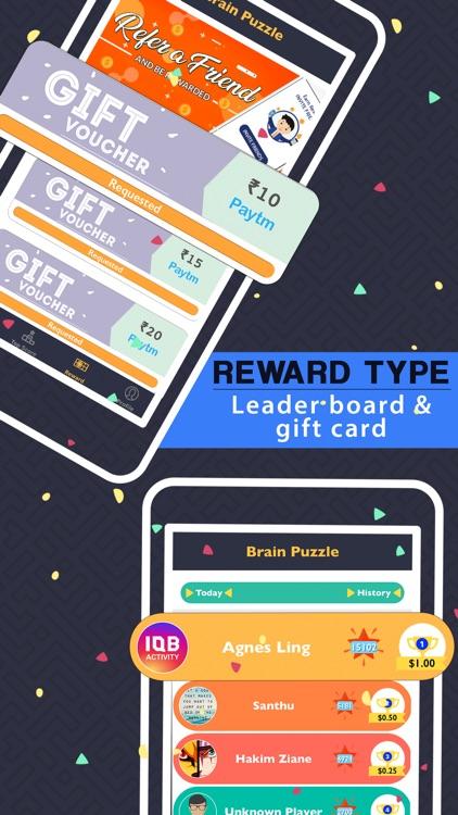 Brain Puzzle : Earn Rewards