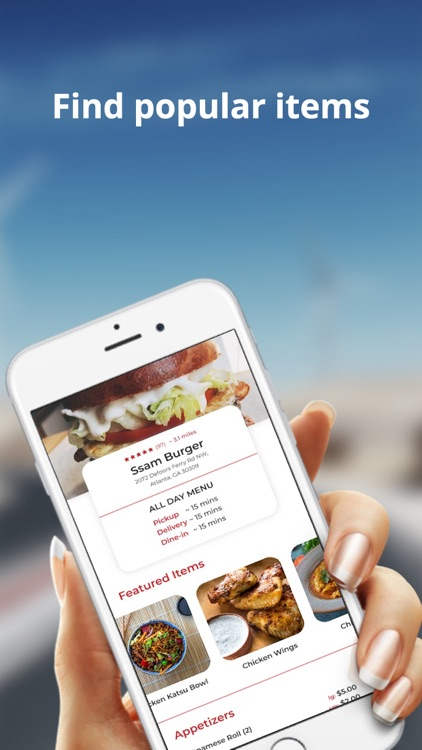 qMenu - Food Ordering screenshot-1