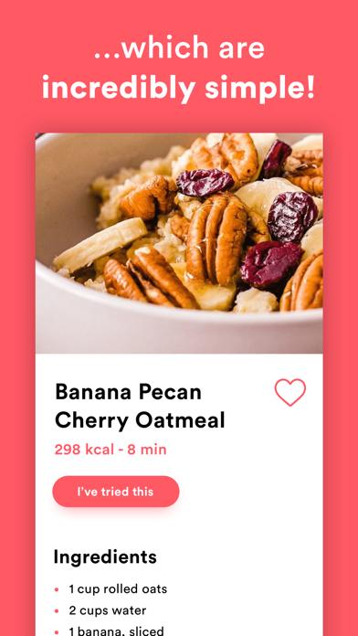 Meals - Healthy Meal Planner Screenshot