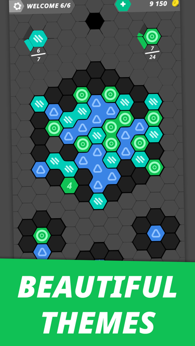 Hexme - IQ & Puzzle game screenshot 3